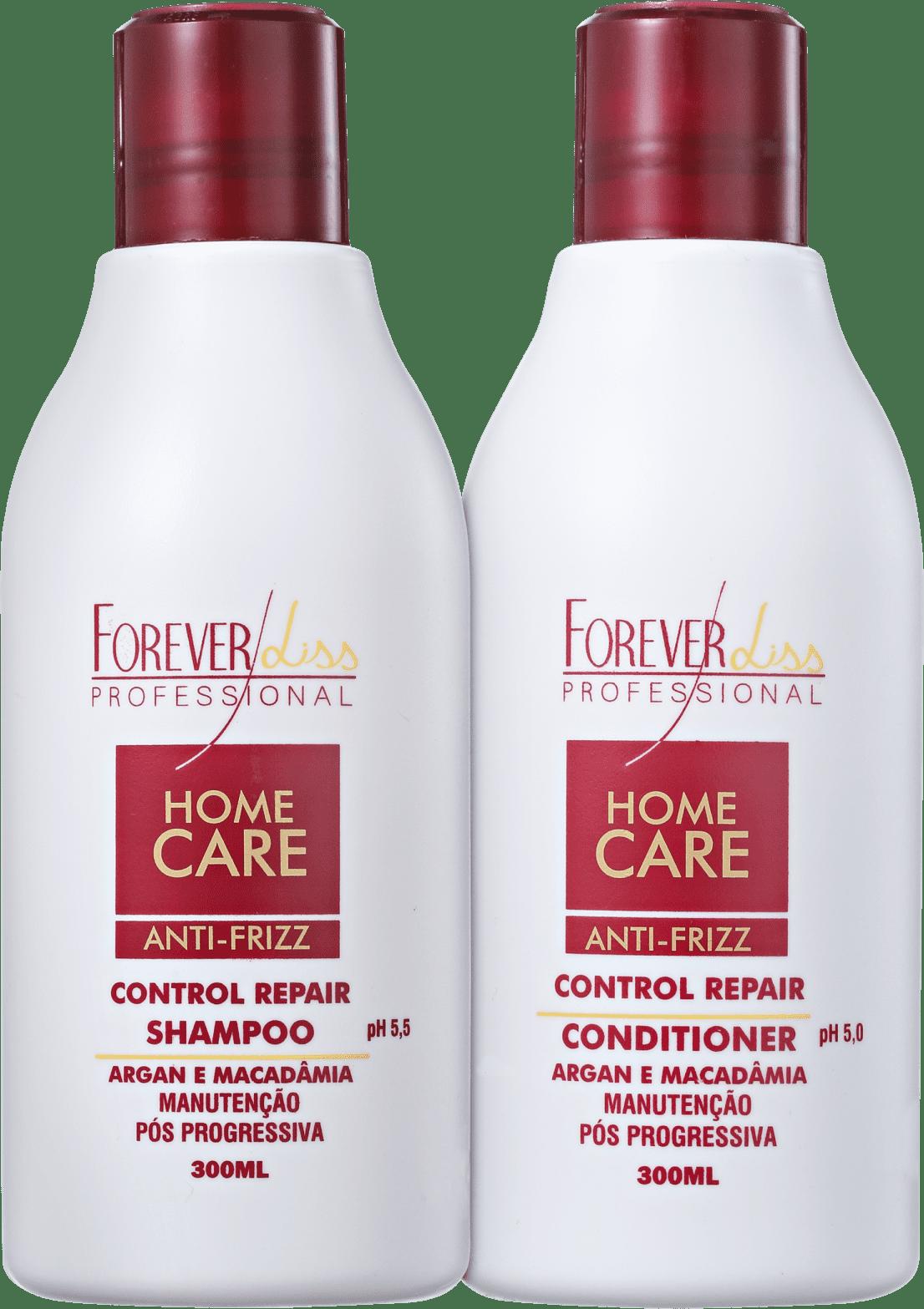 1d75a074c Kit Forever Liss Professional Home Care Anti-Frizz Pós-Progressiva (2  Produtos)