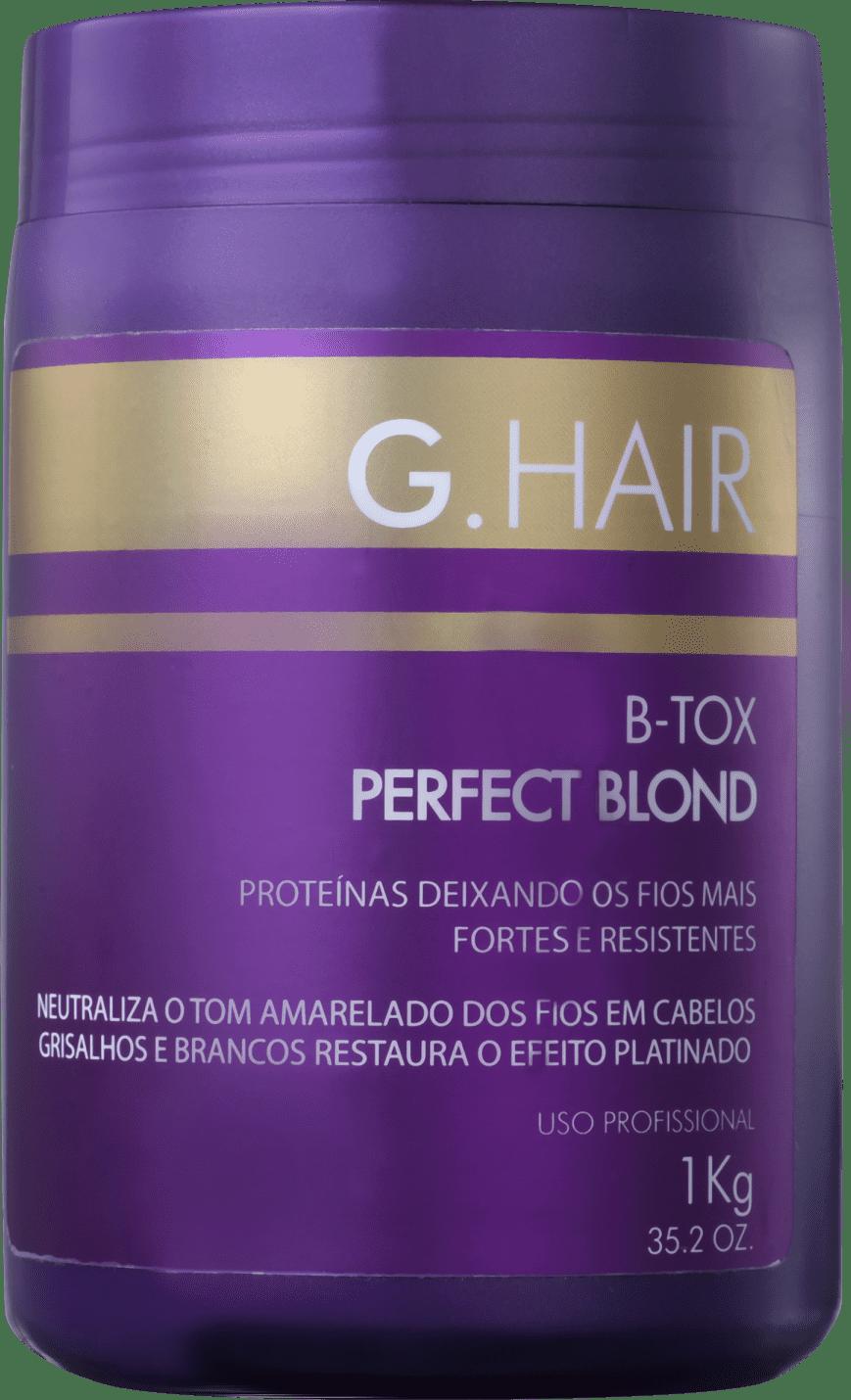 9a10e4913 Redutor de Volume G.Hair Perfect Blond BTox | Beleza na Web