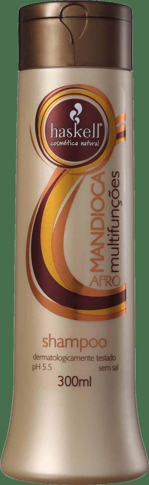 f13d59b5d Haskell Mandioca Multifunções Afro - Shampoo 300ml