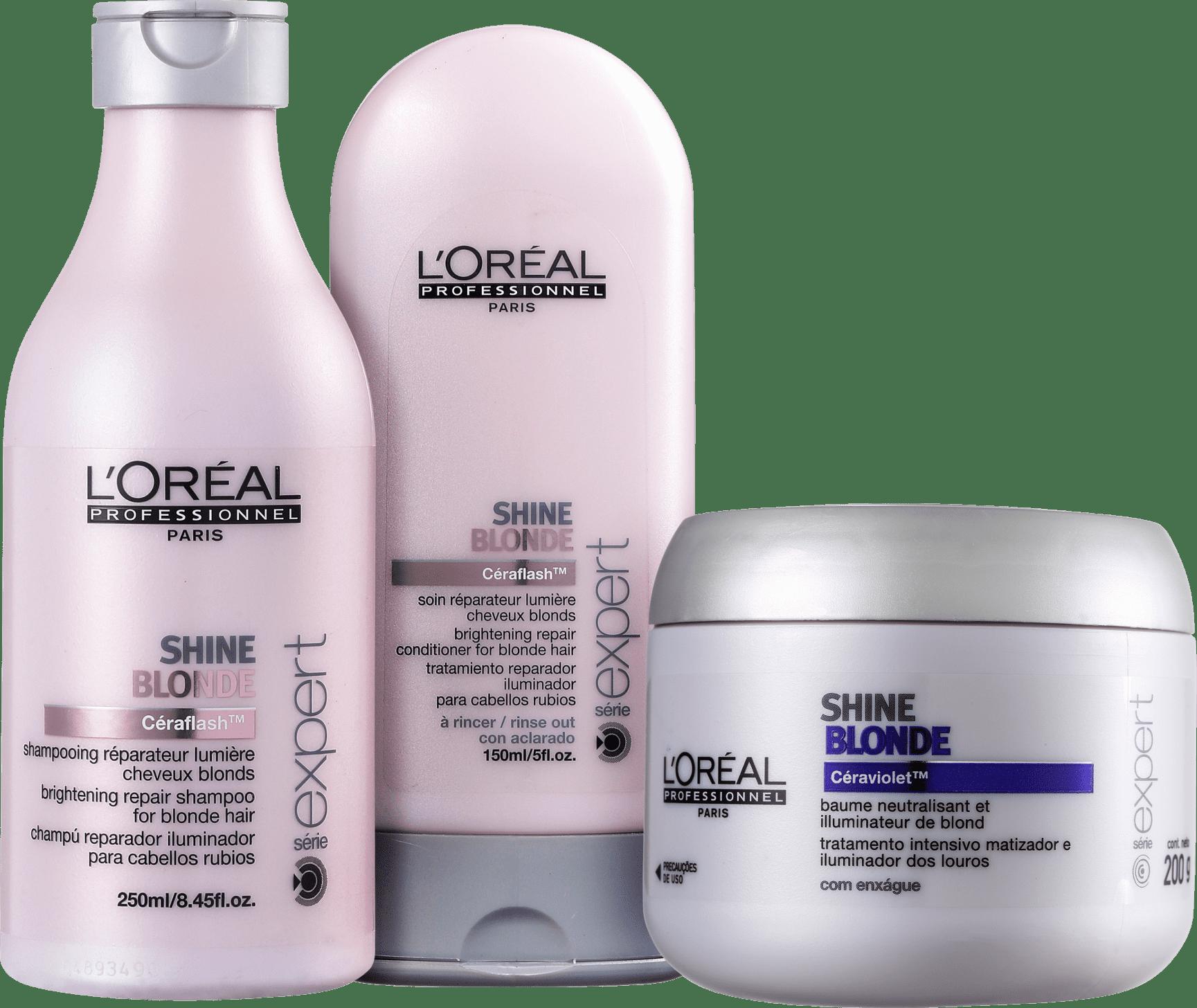 loreal shine blonde shampoo