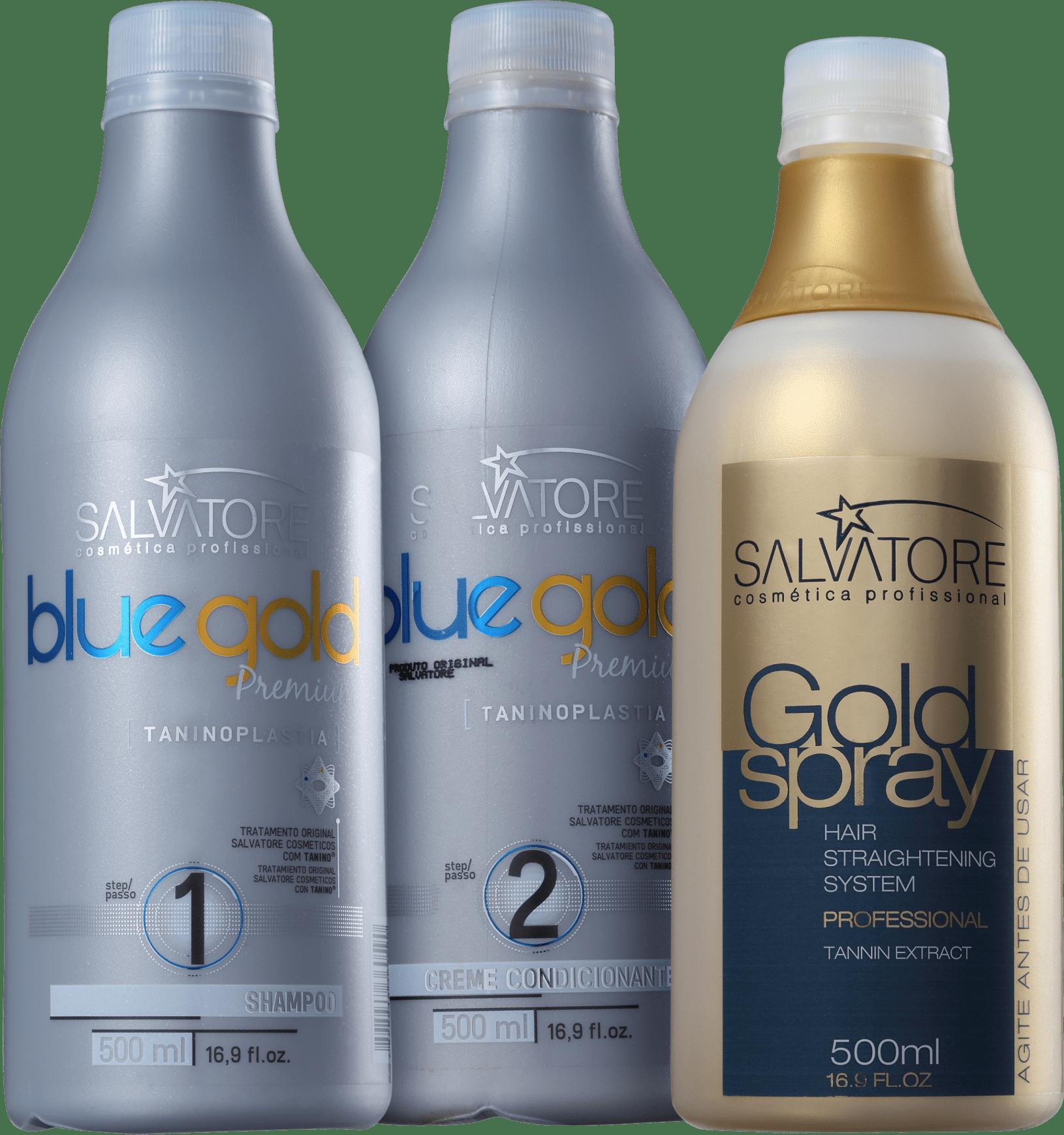 Kit Salvatore Blue Gold Premium Spray   Beleza na Web 4e50113e0c