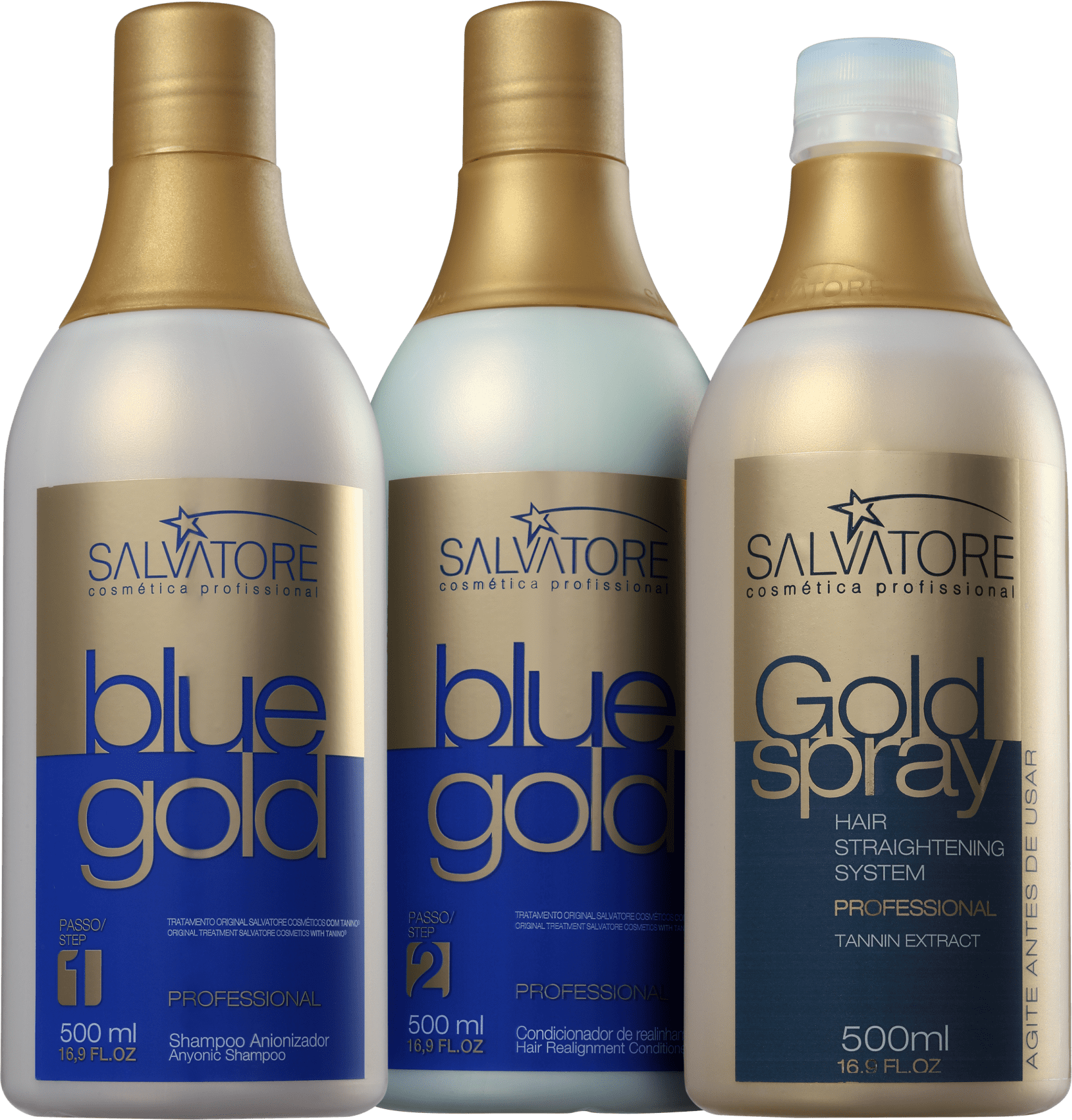 70aeff4d660f9 Kit Salvatore Blue Gold Spray   Beleza na Web