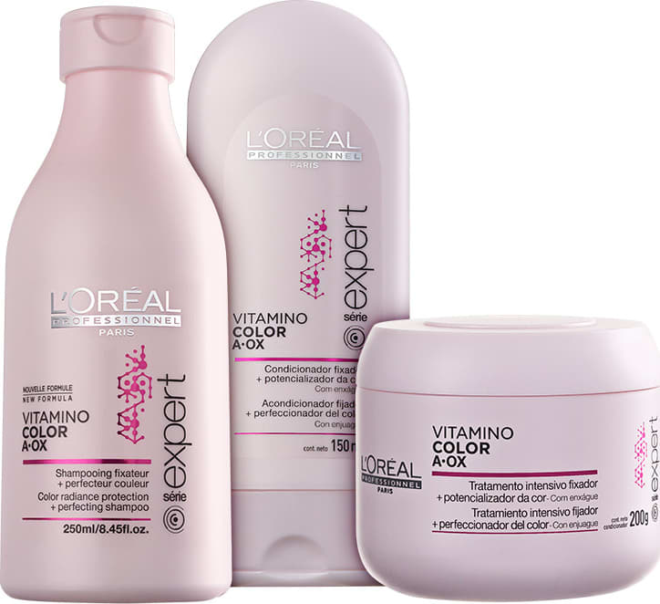 85f923863 Kit L'Oréal Professionnel Expert Vitamino Color A.OX Trio (3 Produtos)