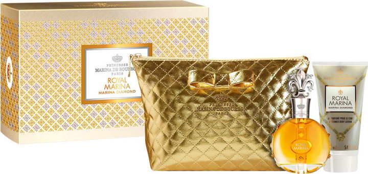 0ec26b9779 Conjunto Royal Marina Diamond Marina de Bourbon Feminino - Eau de Parfum  100ml + Loção Corporal