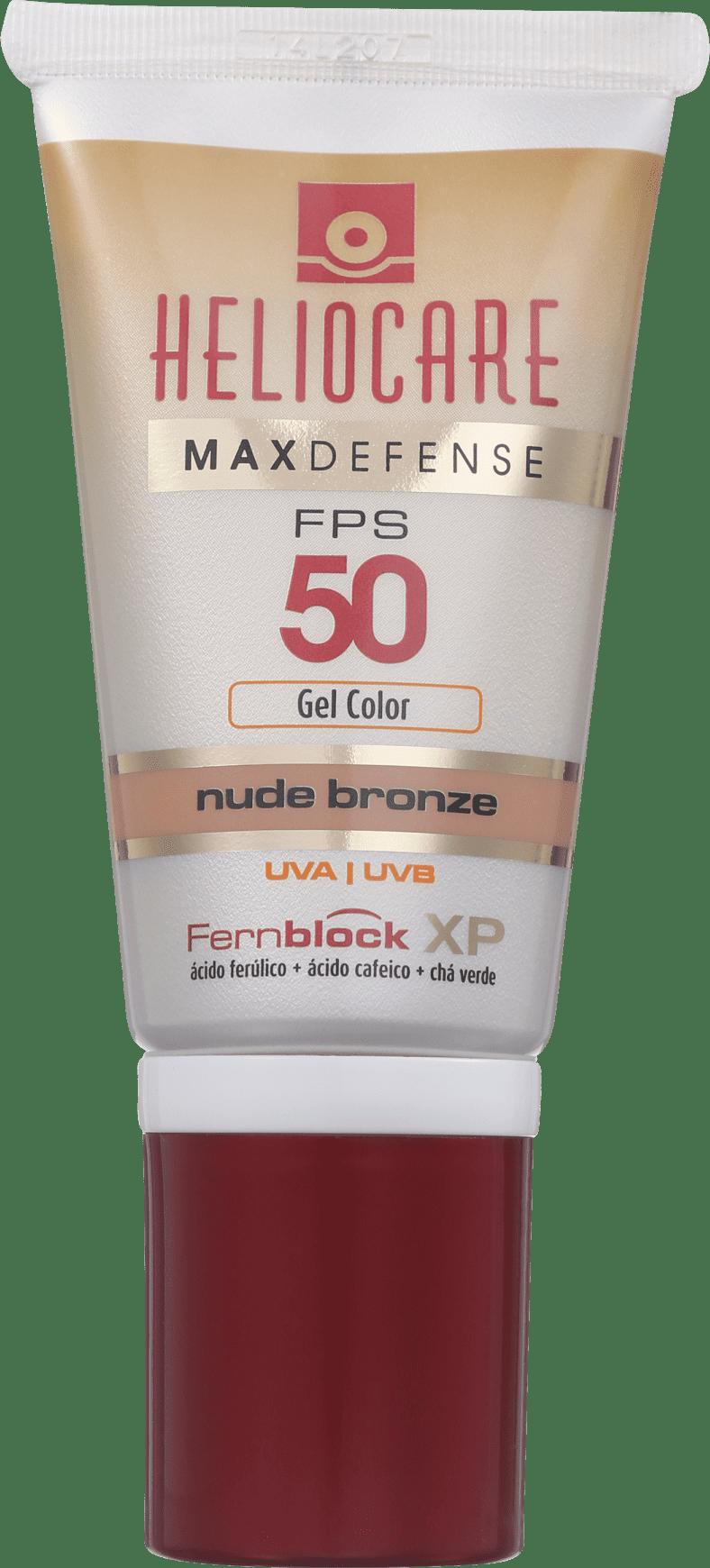 Melora Heliocare Max Defense Gel Creme Fps 50 Nude Light