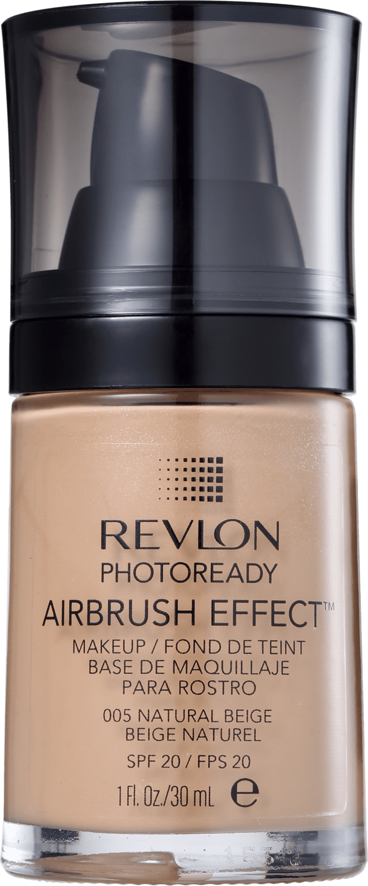 Base Lquida Revlon Photoready Airbrush Effect Fps 20 Beleza Na Web Makeup Nude Natural Beige 30ml