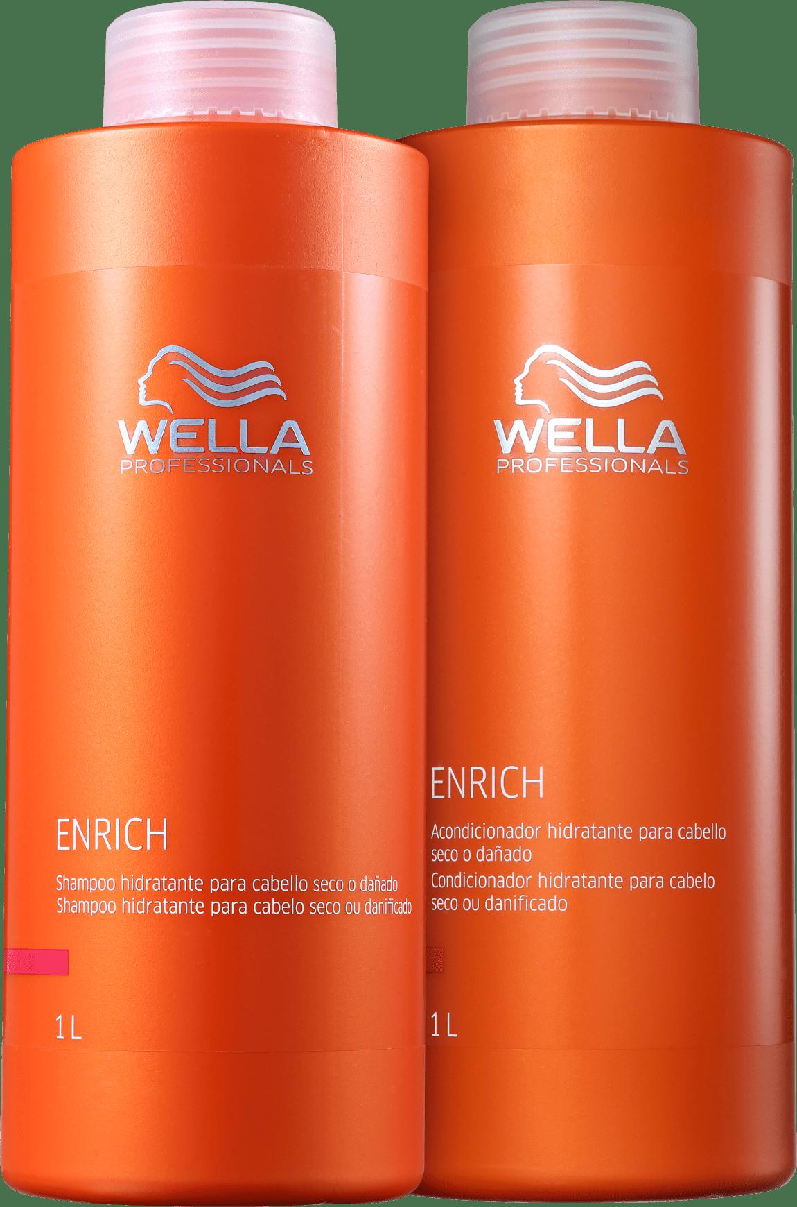 a18507183 Kit Wella Professionals Enrich Litro Duo | Beleza na Web