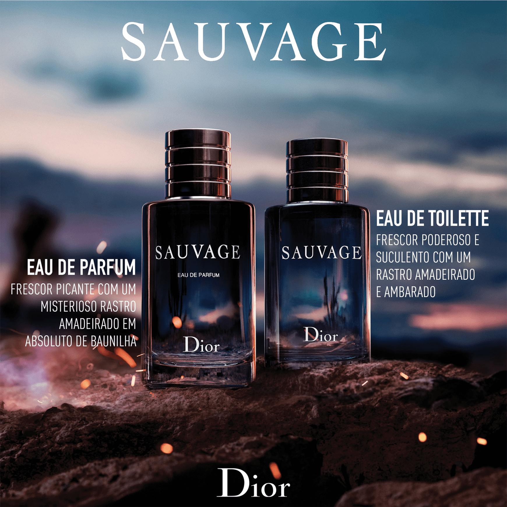 7001f8ddf8b Sauvage Dior Eau de Parfum - Perfume Masculino 100ml