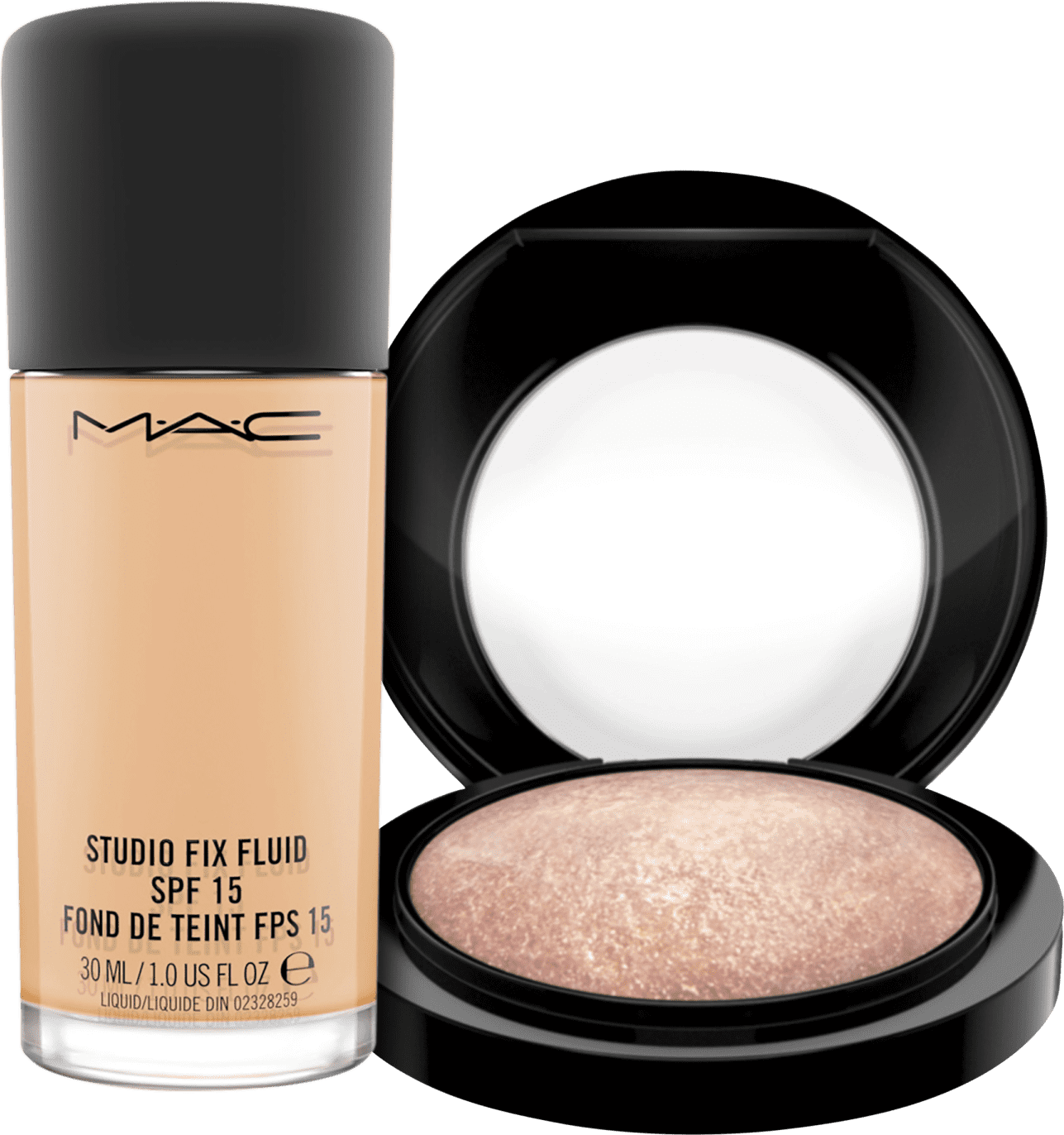 Kit M A C Mineralize Studio Fix Fluid Nc25 Beleza Na Web