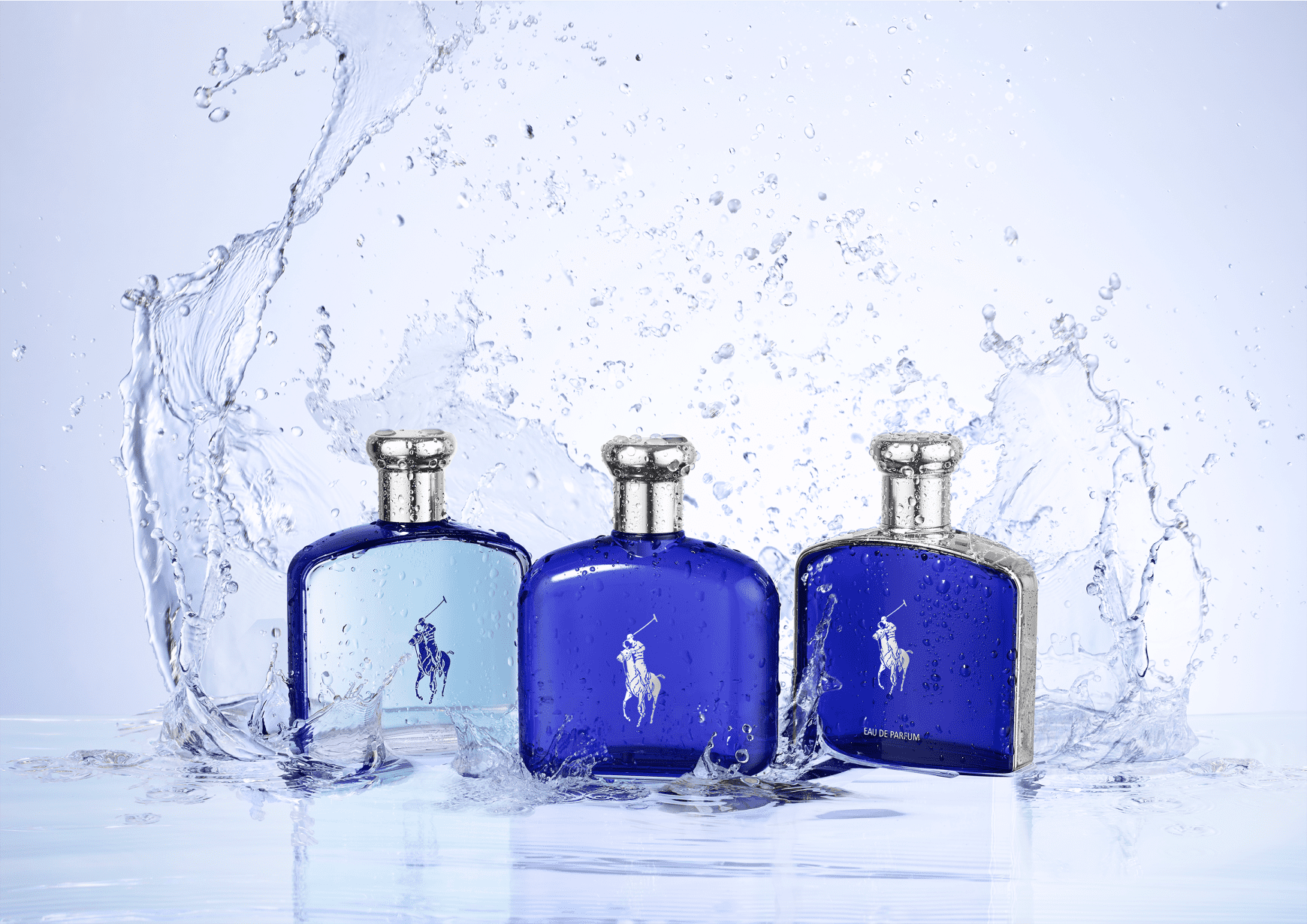 2ae3e88b7 Polo Blue Ralph Lauren Eau de Toilette - Perfume Masculino 125ml