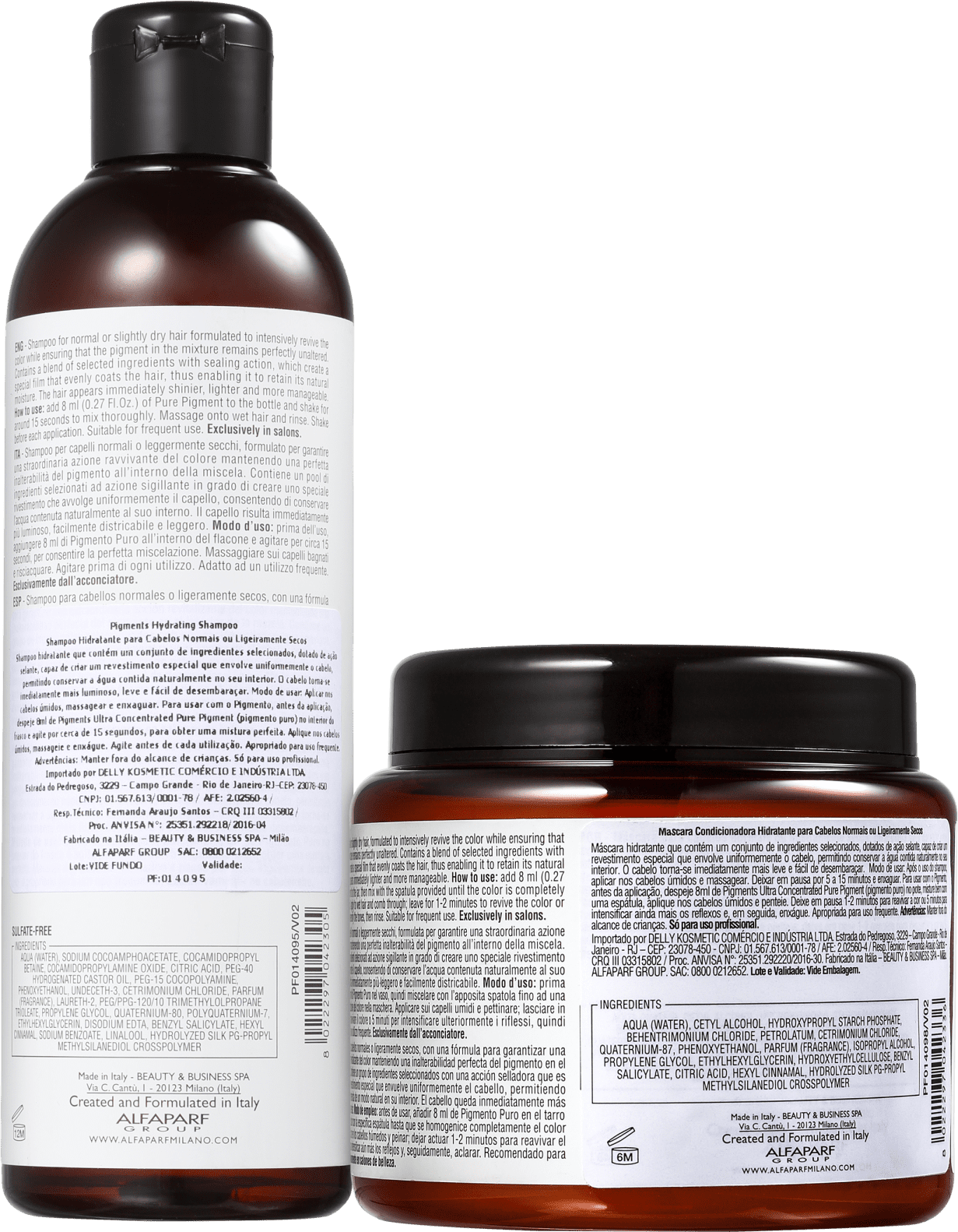 8a856a02f542a1 Kit Alfaparf Pigments Hydrating Duo | Beleza na Web