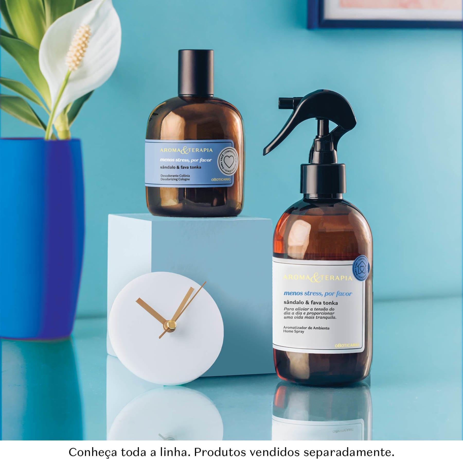 Aroma e Terapia Menos Stress, Por Favor Desodorante Colônia | O Boticário