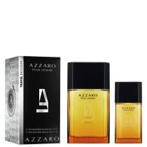 fc35bc5b99 Conjunto Azzaro Pour Homme Duo Masculino - Eau de Toilette 100ml + Eau de  Toilette 30ml