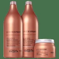 e0de233a5 -21% Kit L'Oréal Professionnel Absolut Repair Pós-Química (3 Produtos)