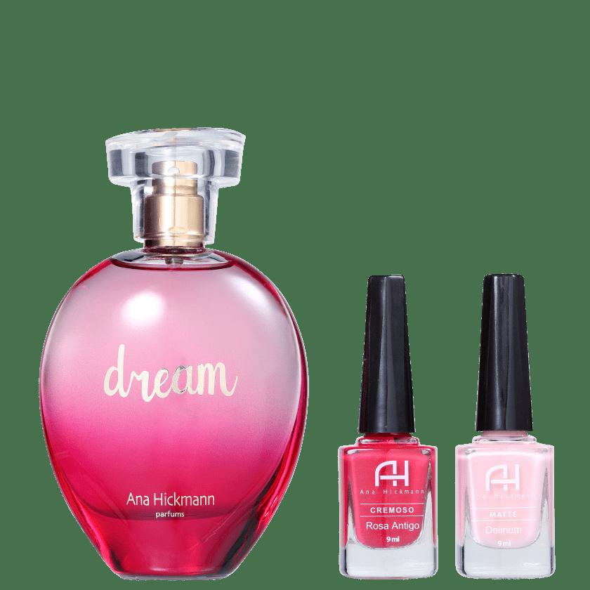 Conjunto Dream Ana Hickmann Feminino - Eau de Cologne 80ml + Esmalte 9ml 2un 2e27cb2dcb