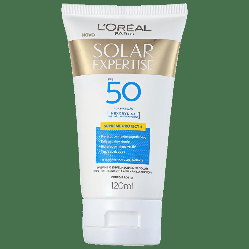 -10% L Oréal Paris Solar Expertise Supreme Protect 4 FPS 50 - Protetor Solar  Facial 120ml d0b642b0d8