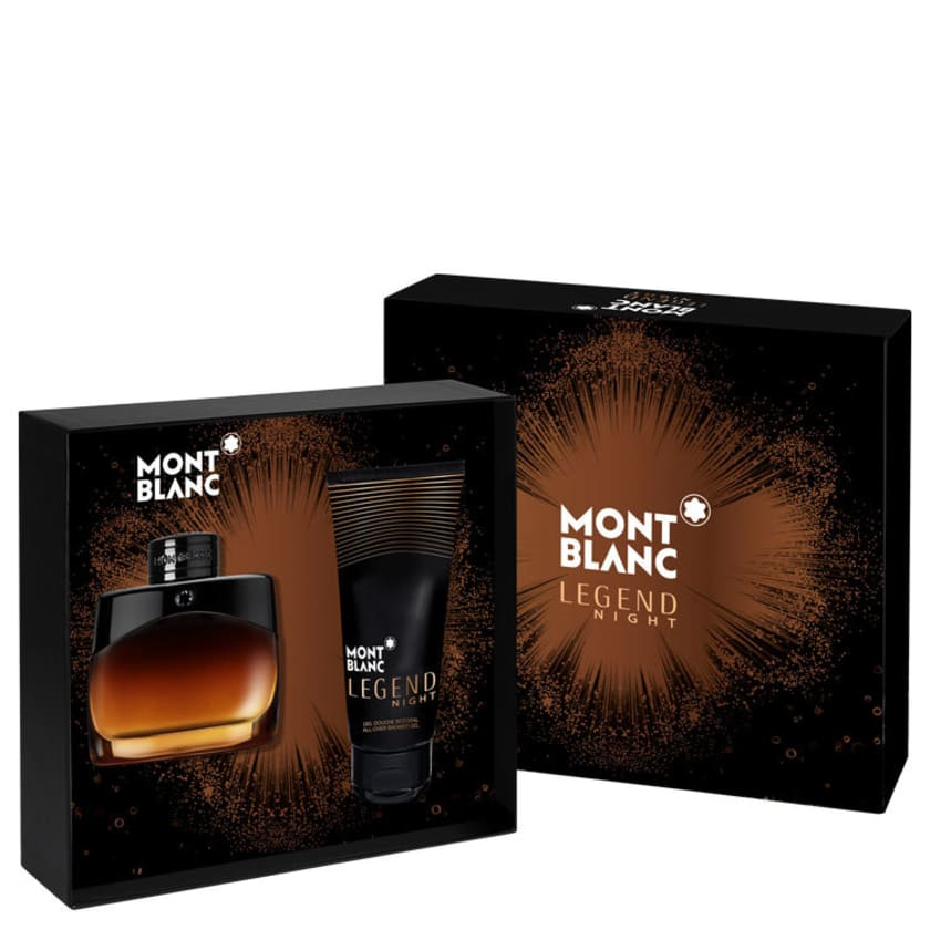 -23% Conjunto Legend Night Montblanc Masculino - Eau de Parfum 100ml + Pós  Barba 100ml + Travel 294b09011c