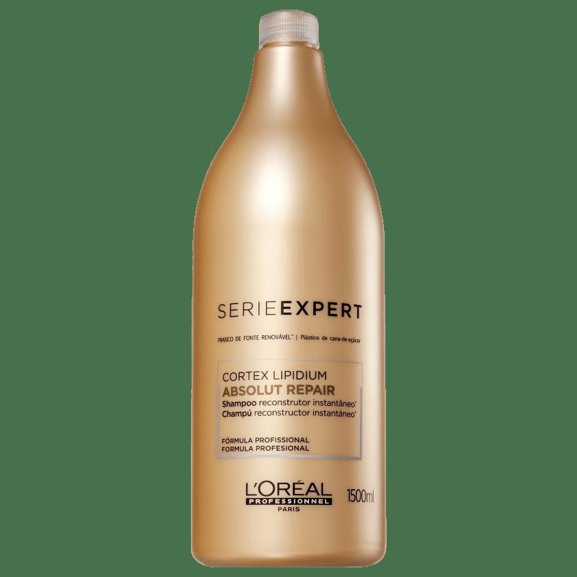 e37bc0948 Shampoo L'Oréal Absolut Repair 1,5l   Beleza na Web