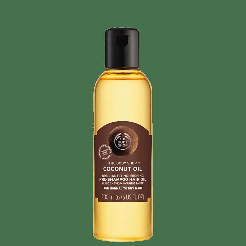 fd807a416a91e Óleo Pré-Shampoo The Body Shop Coconut   Beleza na Web