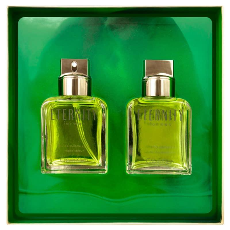 Calvin Klein Conjunto Masculino Eternity for Men - Eau de Toilette 100ml + After-Shave 100ml