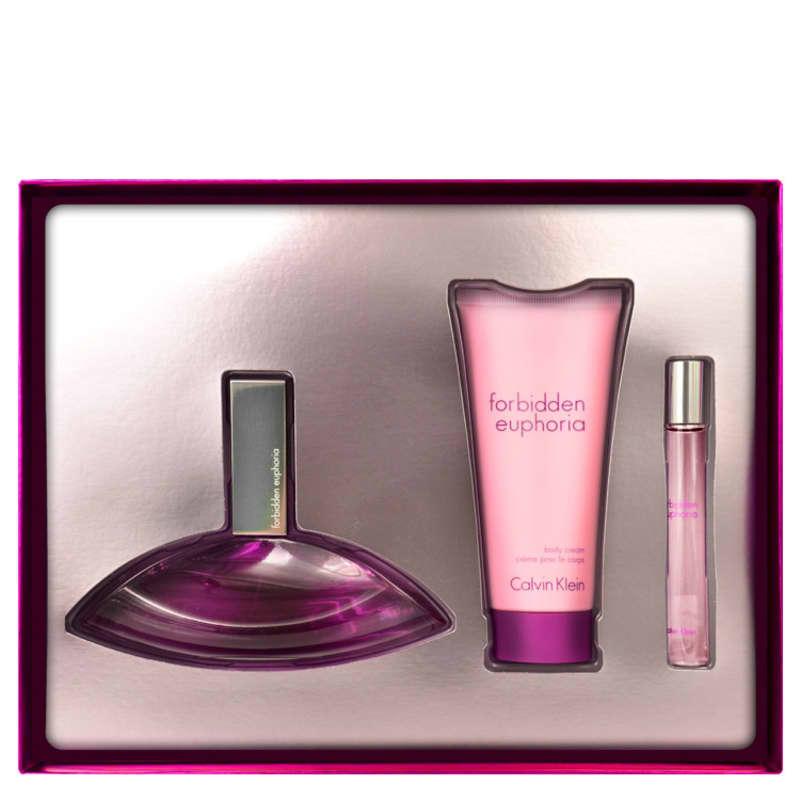 Calvin Klein Conjunto Feminino Forbidden Euphoria Eau De Parfum