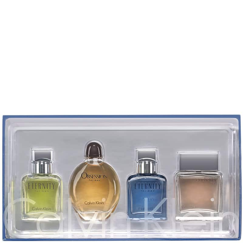 Calvin Klein Conjunto Masculino Travel Kit for Men - Miniaturas 4x15ml