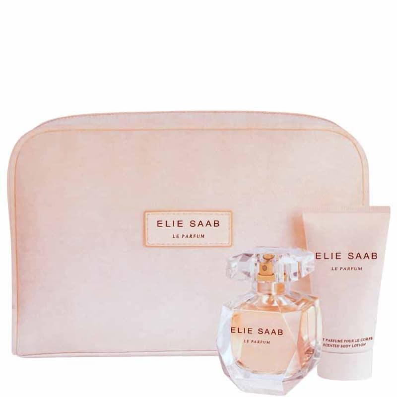Elie Saab Conjunto Feminino Le Parfum - Eau de Parfum 50ml + Loção 50ml + Nécessaire