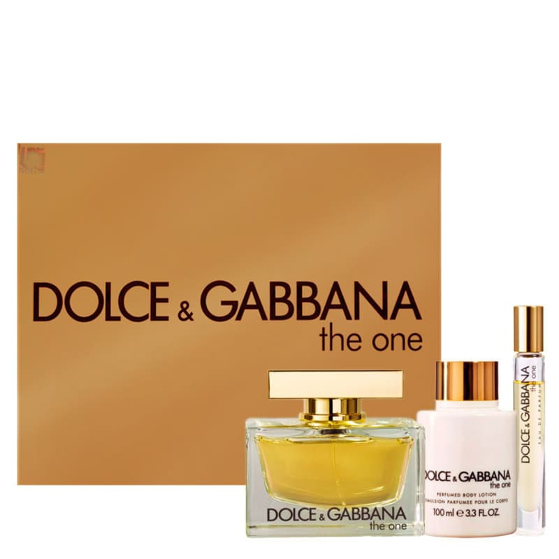 11cd08d6a36e7 Dolce   Gabbana Conjunto Feminino The One - Eau de Parfum 75ml + Loção 100ml  + Eau de Parfum 6ml