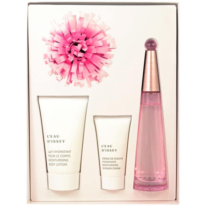 Issey Miyake Conjunto L'Eau d'Issey Florale - Eau de Toilette 50ml + Body Lotion 75ml + Shower Cream 30ml