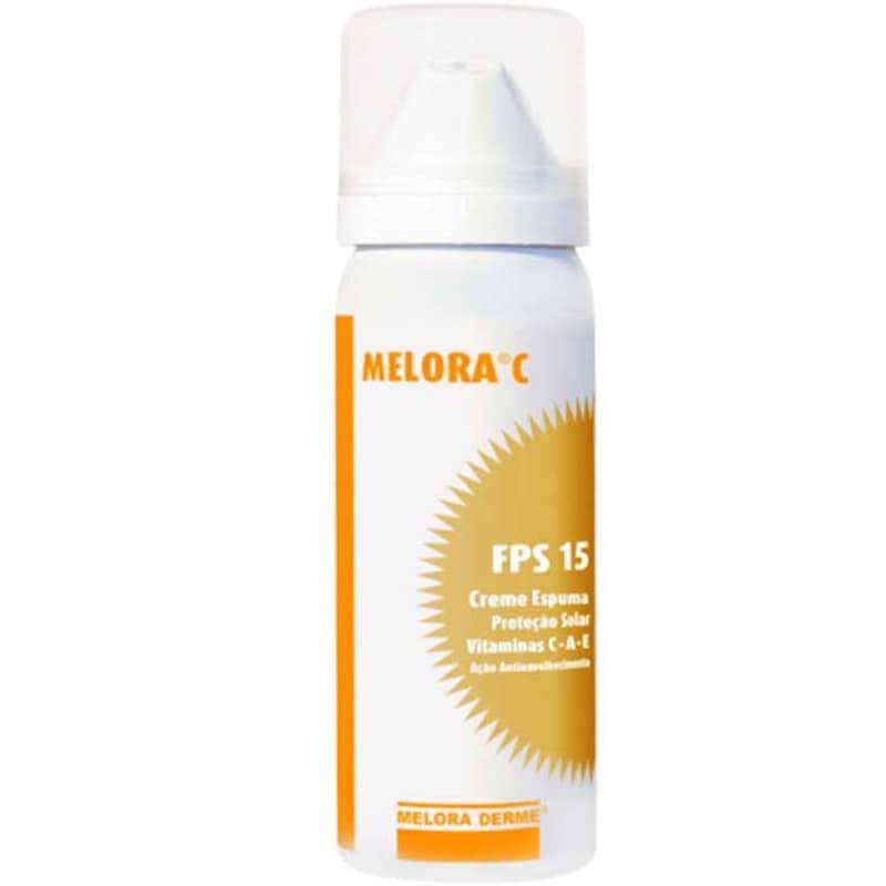 Melora C Creme Espuma Fps 15 - Tratamento 45ml