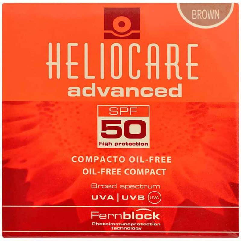 Melora Heliocare Ccompacto Oil Free Fps 50 Brown - Protetor Solar Com Cobertura 10g