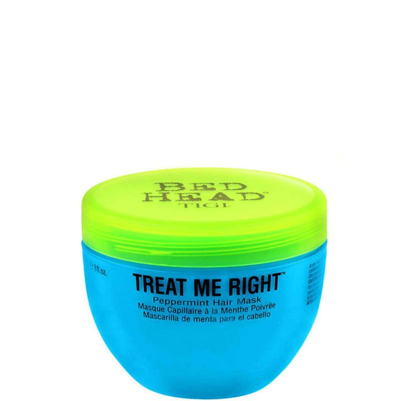 TIGI Bed Head Treat Me Right Peppermint - Máscara Tratamento 280g