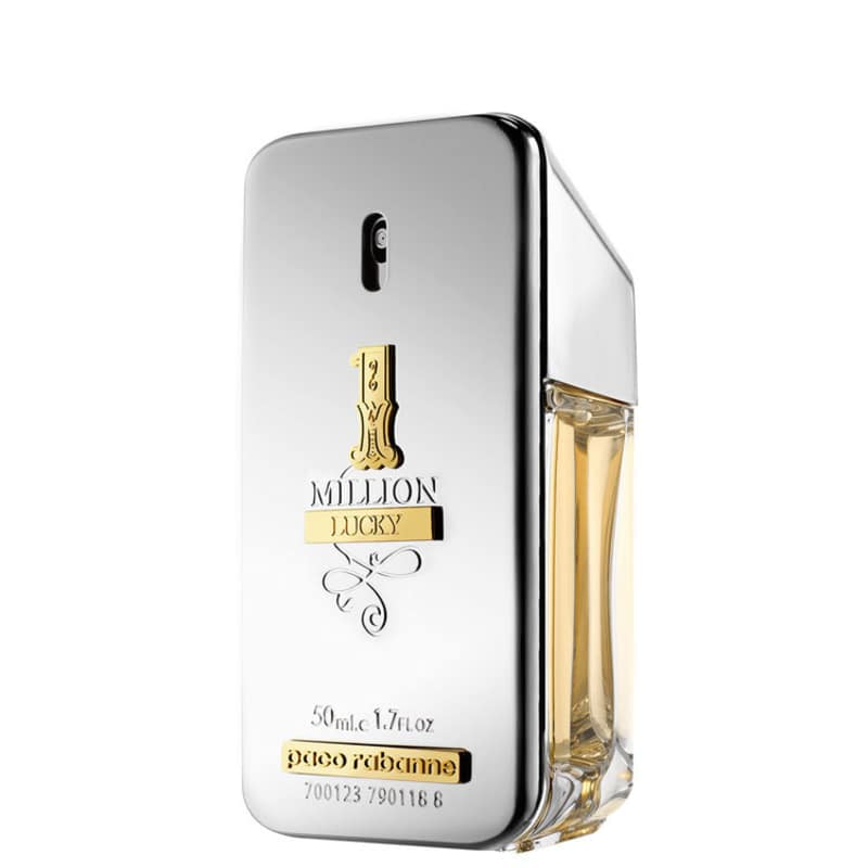 1 Million Lucky Paco Rabanne Eau de Toilette - Perfume Masculino 50ml