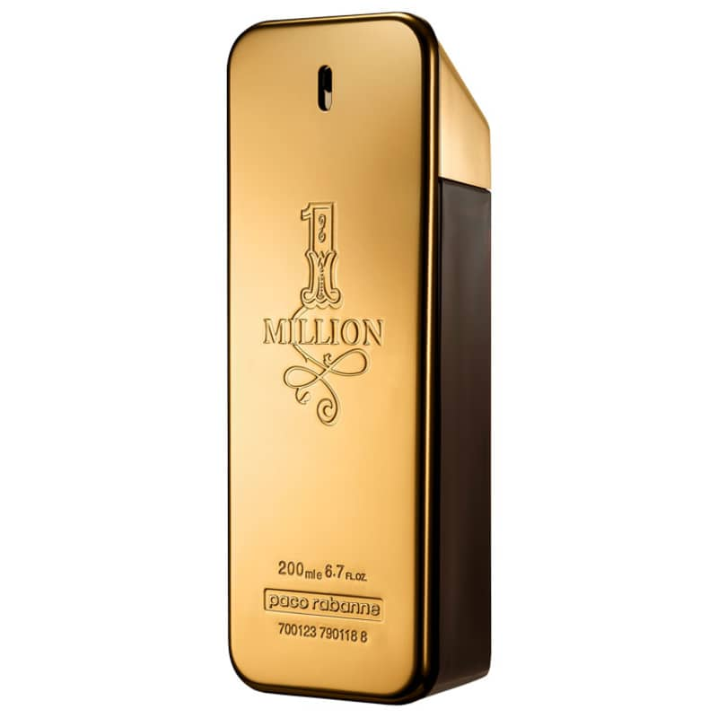 1 Million Paco Rabanne Eau de Toilette - Perfume Masculino 200ml