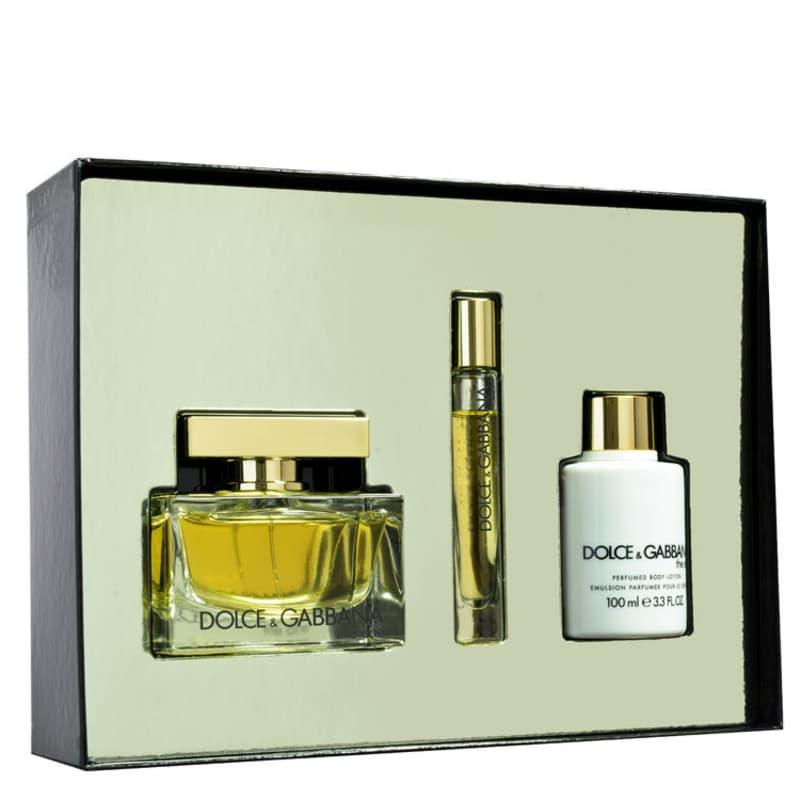cf9a72197c0c1 Dolce   Gabbana Conjunto Feminino The One - Eau de Parfum 75ml + Loção 100ml  +. ‹ ›