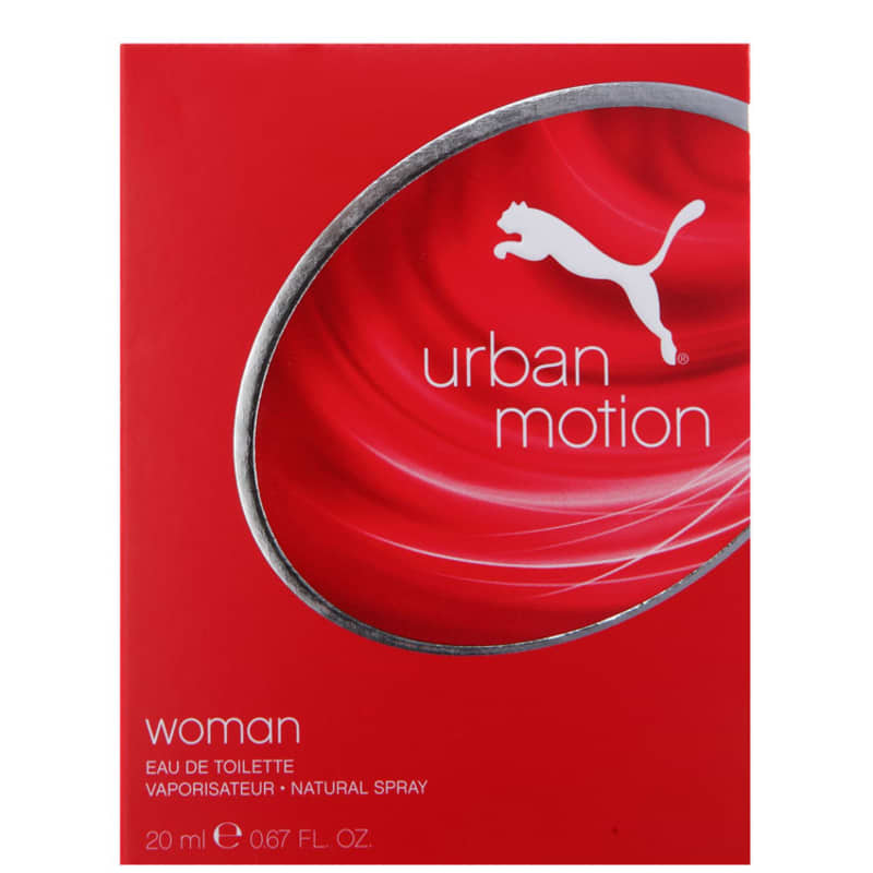 96f7ca13cf9 Urban Motion Woman Puma Eau de Toilette - Perfume Feminino 20ml. ‹ ›