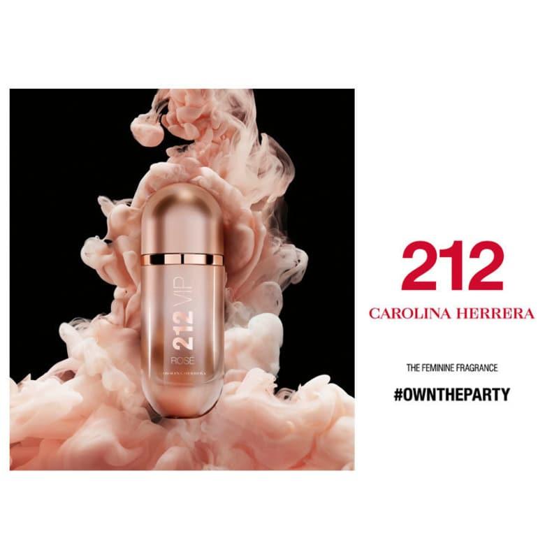 40fc1164c 212 VIP Rosé Carolina Herrera Eau de Parfum - Perfume Feminino 30ml