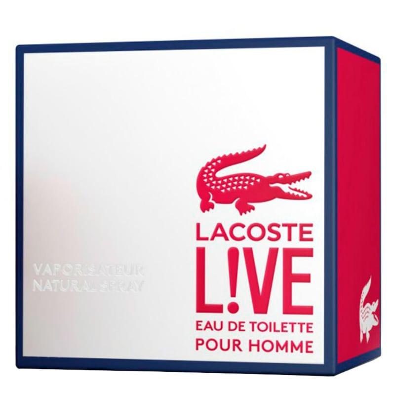 64a6f4f3a20 Lacoste Live Eau de Toilette - Perfume Masculino 100ml