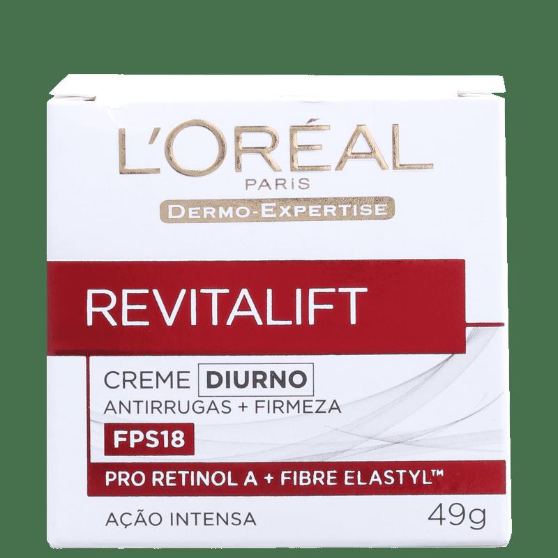 L'Oréal Paris Revitalift FPS 18 - Creme Anti-Idade Diurno 49g