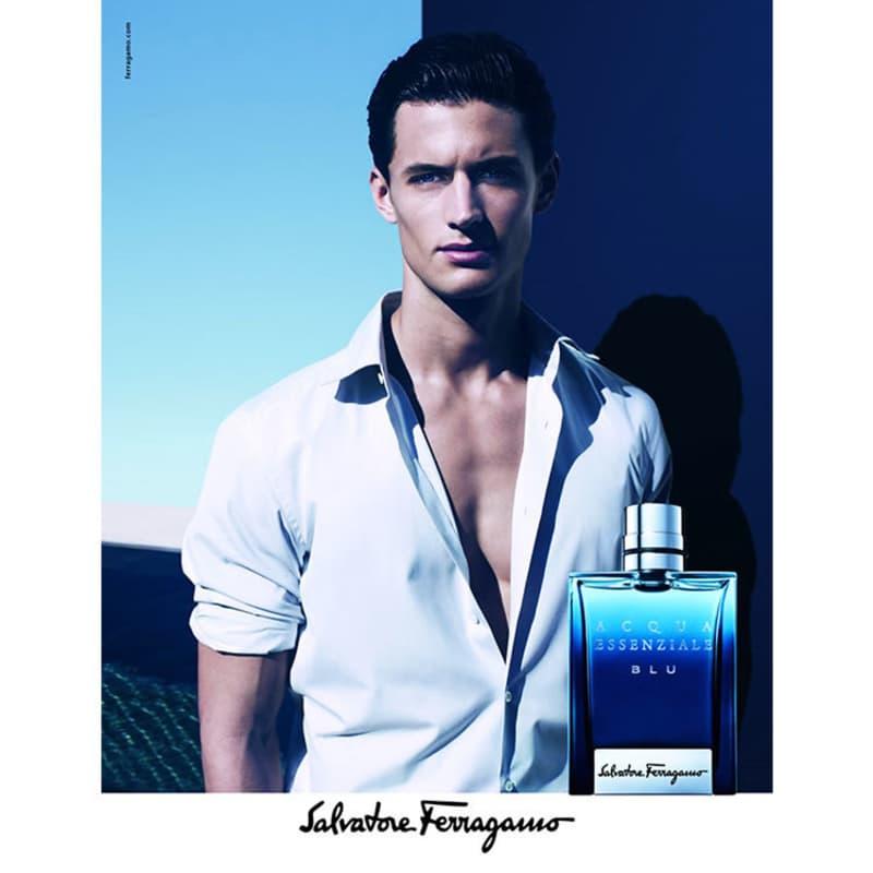 d7137b7282b8b Acqua Essenziale Blu Salvatore Ferragamo Eau de Toilette - Perfume  Masculino 100ml. ‹ ›