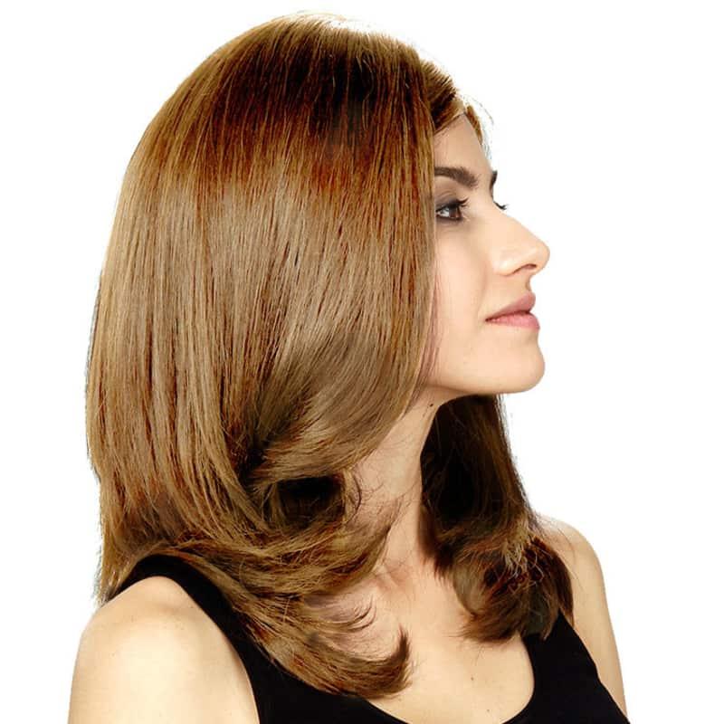 Crown Wigs Diana Castanho Claro Louro Médio - Peruca 45cm. ‹ › a295cda857