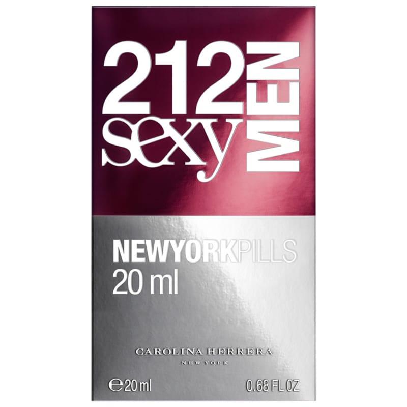212 Sexy Men Pills Carolina Herrera Eau de Toilette - Perfume Masculino 20ml 8638d077a8