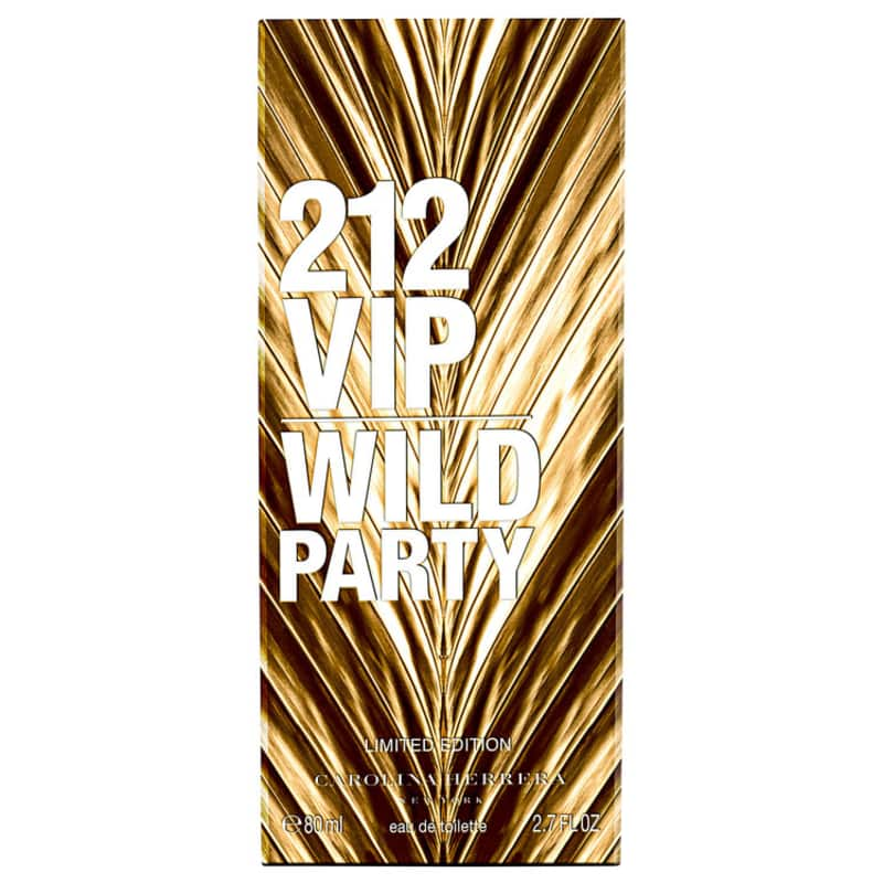 d41c84153 212 VIP Wild Party Carolina Herrera Eau de Toilette - Perfume Feminino 80ml