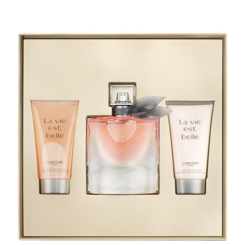 5145da5891 Conjunto La Vie Est Belle Lancôme Feminino - Eau de Parfum 50ml + Gel de  Banho. ‹ ›