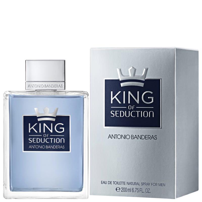 357edf409 King of Seduction Antonio Banderas Eau de Toilette - Perfume Masculino 200ml