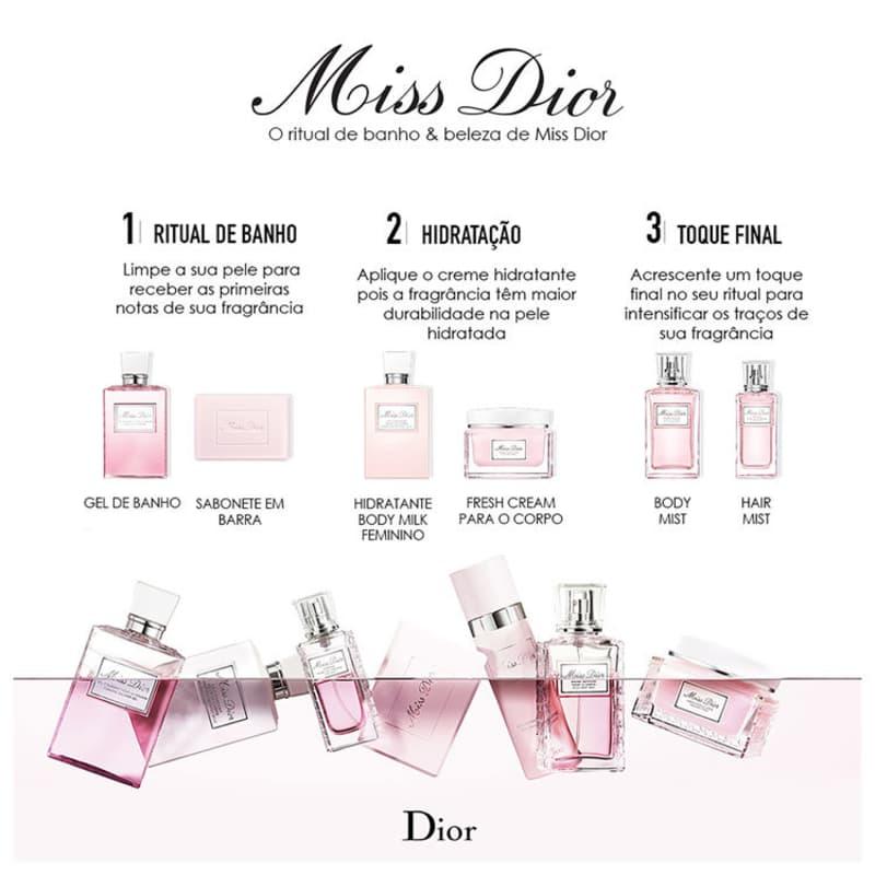 1857f4a6a14 Miss Dior Hair Mist - Perfume para Cabelo 30ml. ‹ ›