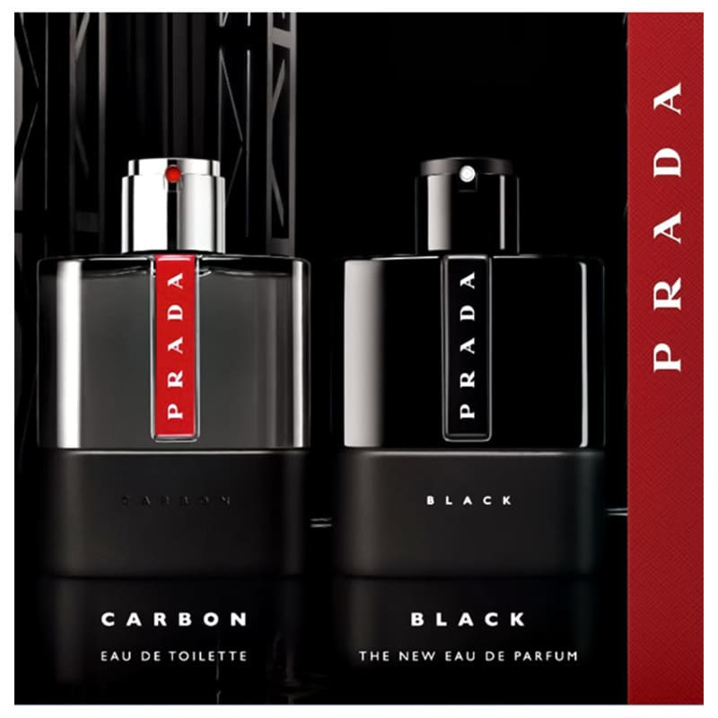 6dbe132d1e893 Luna Rossa Carbon Prada Eau de Toilette - Perfume Masculino 50ml