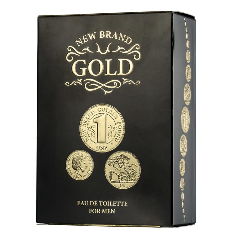 1aa7a5e2e Gold New Brand Eau de Toilette - Perfume Masculino 100ml