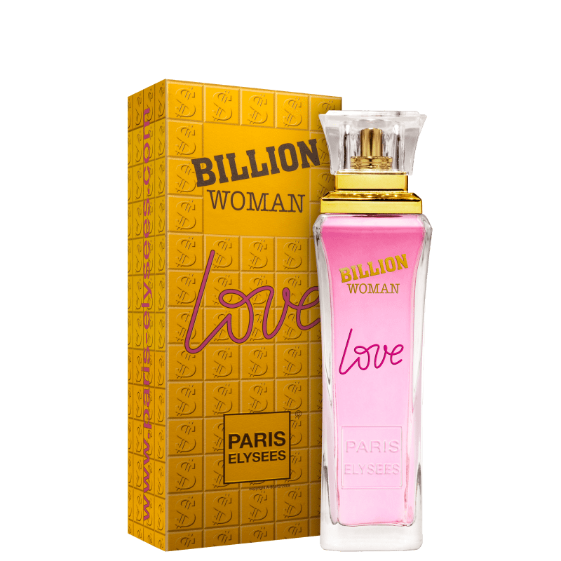f955613348 Billion Woman Love Paris Elysees Eau de Toilette - Perfume Feminino 100ml