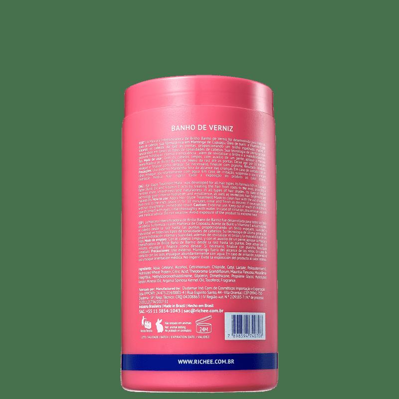 4a4985832 Richée Professional Nano Botox Repair Banho de Verniz - Máscara Capilar  1000g